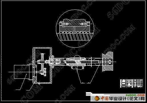 数控车床主运动系统的设计毕业论文(图3)