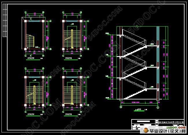 4米高楼梯设计图纸