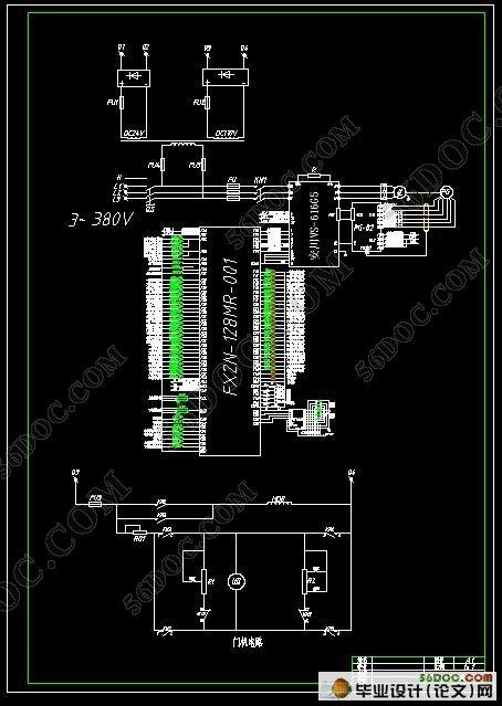 基于plc自动门控制的设计毕业论文设计