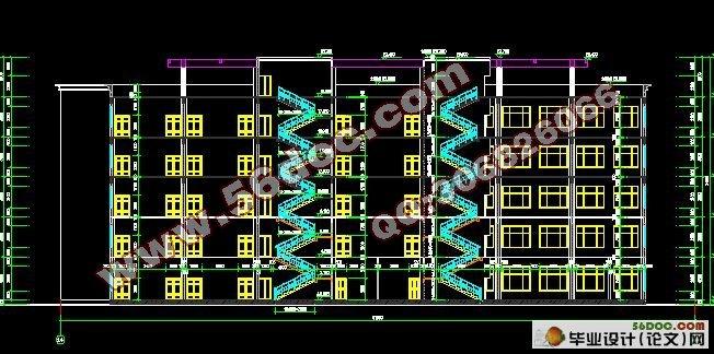 多层建筑钢筋混凝土框架结构设计论文