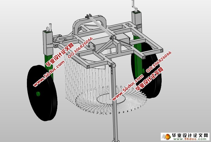 甜菜起拔机的设计(农业机械)(含CAD图,SolidWorks三维)