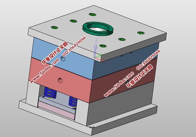 三孔面板职称塑料模具设计(含CAD机械江苏2018年插座设计零件图片