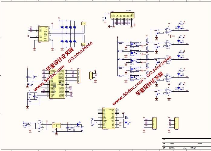 1 系统控制电路设计    10   3.2 语音导游播报电路设计    16   3.